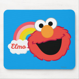 Elmoの女の子 マウスパッド