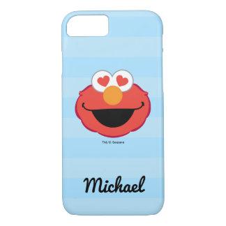 Elmoの微笑の顔|はあなたの名前を加えます iPhone 8/7ケース