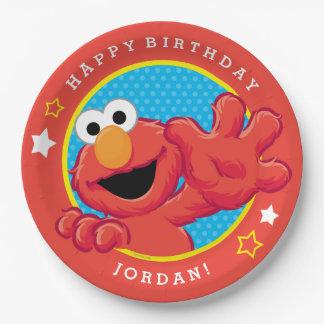 Elmoの極度な誕生日 ペーパープレート