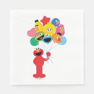 Elmoの気球 スタンダードランチョンナプキン
