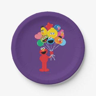 Elmoの気球 ペーパープレート