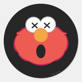 Elmoの眩暈がするような顔 ラウンドシール