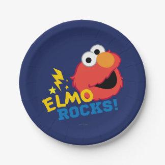 Elmoの石 ペーパープレート