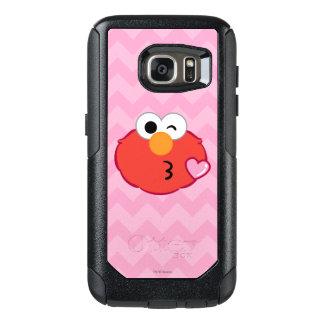Elmoはキスの投げに直面します オッターボックスSamsung Galaxy S7ケース