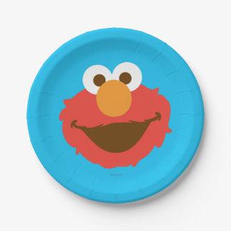 Elmoは直面します ペーパープレート