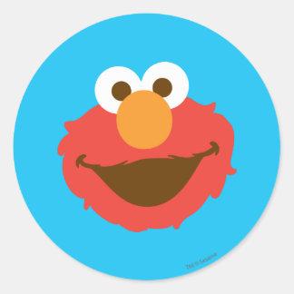 Elmoは直面します ラウンドシール
