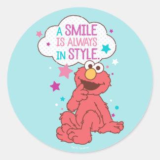 Elmoは|スマイルスタイル常にです ラウンドシール