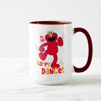 Elmoは|幸せなダンスをします マグカップ