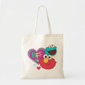 Elmo及びクッキーモンスター- BFF トートバッグ