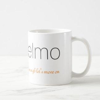 Elmo及び十分にロゴのマグ|は進もうには コーヒーマグカップ