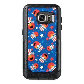 Elmo愛国心が強いパターン オッターボックスSamsung Galaxy S7ケース
