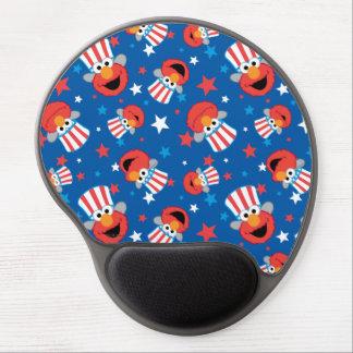 Elmo愛国心が強いパターン ジェルマウスパッド