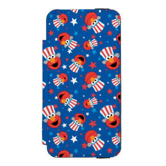 Elmo愛国心が強いパターン Incipio Watson™ iPhone 5 ウォレット ケース