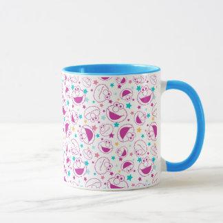 Elmo |の甘く及びかわいい星パターン マグカップ