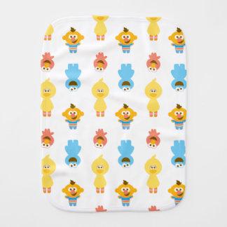 Elmo、クッキーモンスター、バート及びクッキーモンスター バープクロス