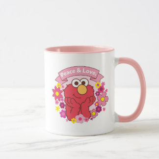 Elmo |平和及び愛 マグカップ