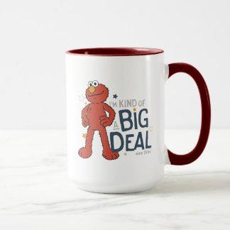 Elmo |私はちょっと大事です マグカップ