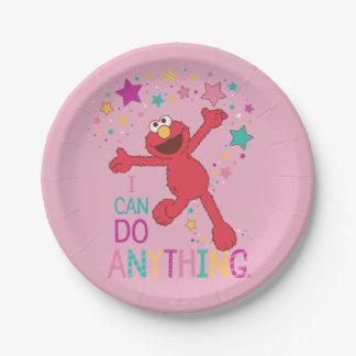 Elmo |私は何でもしてもいいです ペーパープレート