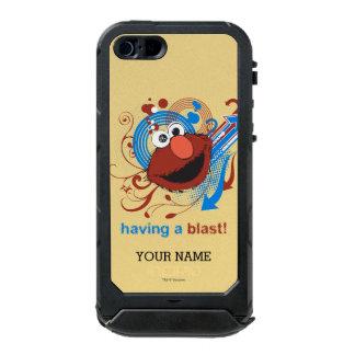 Elmo -送風を持っていること! |はあなたの名前を加えます ウォータープルーフiPhone SE/5/5sケース