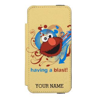 Elmo -送風を持っていること! |はあなたの名前を加えます incipio watson™ iPhone 5 ウォレット ケース