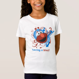 Elmo -送風を持っていること! tシャツ