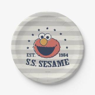 Elmo 1984 2 ペーパープレート