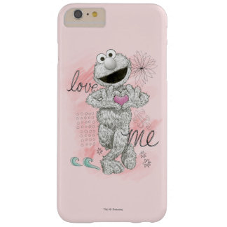 Elmo B&Wのスケッチのスケッチ Barely There iPhone 6 Plus ケース