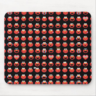 Elmo Emojiパターン マウスパッド