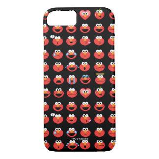 Elmo Emojiパターン iPhone 8/7ケース