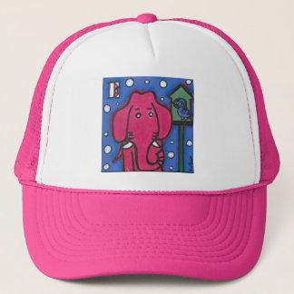 eloiseは象彼女の鳥のトラック運転手の帽子を愛します キャップ