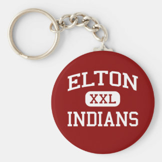 Elton -インディアン-高等学校- Eltonルイジアナ キーホルダー