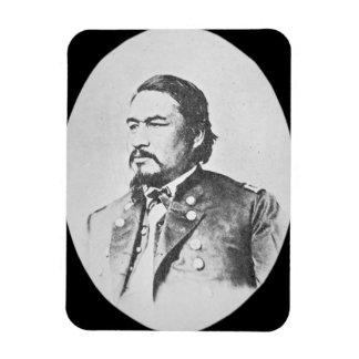 ElyサミュエルParkerの(1828-95年の)セネカ人の責任者およびFeder マグネット