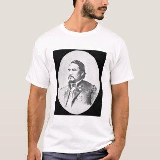 ElyサミュエルParkerの(1828-95年の)セネカ人の責任者およびFeder Tシャツ