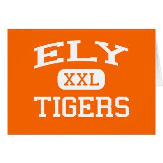 Ely -トラ-高等学校-コバンアジのビーチフロリダ カード