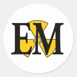 EMの電気技師の仲間 ラウンドシール