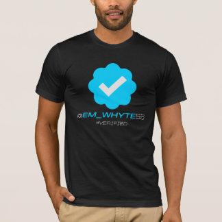 @Em_Whyte55 -確認される-黒 Tシャツ