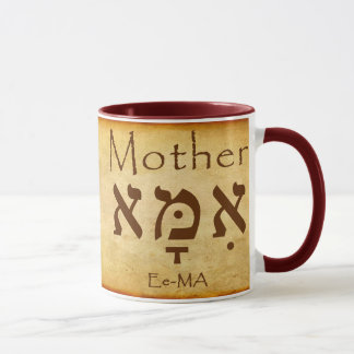 EMA -母ヘブライマグ マグカップ