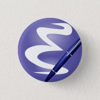 Emacsボタン 3.2cm 丸型バッジ
