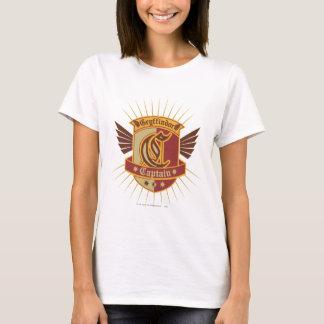 Emblem Gryffindor QUIDDITCH™の大尉 Tシャツ
