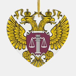 Emblem_of_the_Supreme_Court_of_Russia セラミックオーナメント
