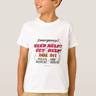 Emergency_Need_Help Tシャツ