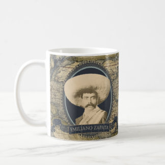 Emiliano Zapataの歴史的マグ コーヒーマグカップ