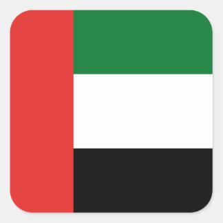 Emiradosarabesの旗 スクエアシール