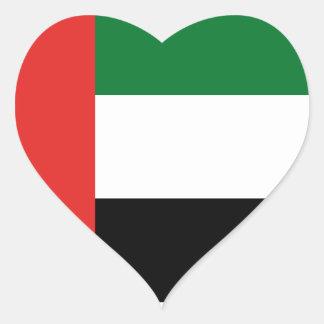 Emiradosarabesの旗 ハートシール