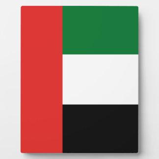 Emiradosarabesの旗 フォトプラーク