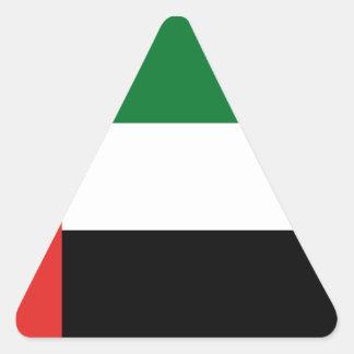 Emiradosarabesの旗 三角形シール