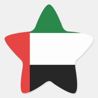Emiradosarabesの旗 星シール
