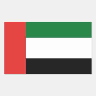 Emiradosarabesの旗 長方形シール