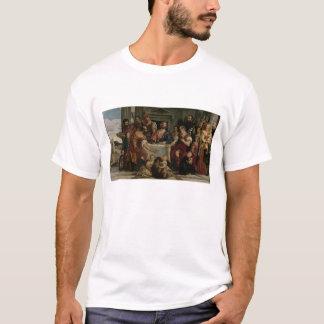 Emmaus (キャンバスの油)の夕食 tシャツ