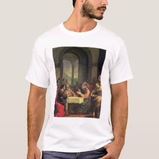 Emmaus、c.1600-05 (パネルの油)の夕食 tシャツ